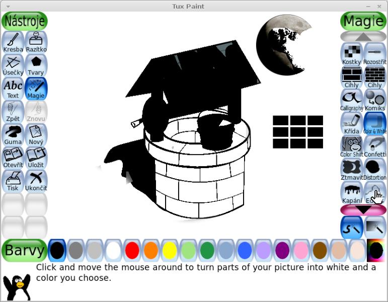 Tux Paint Program Na Kresleni Nejen Pro Deti Manjaro Cz